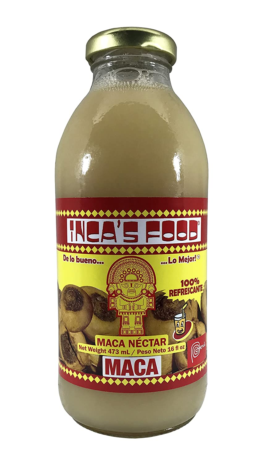 Inca's Food Peruvian Maca Drink 16 Fl.oz 3 PACK