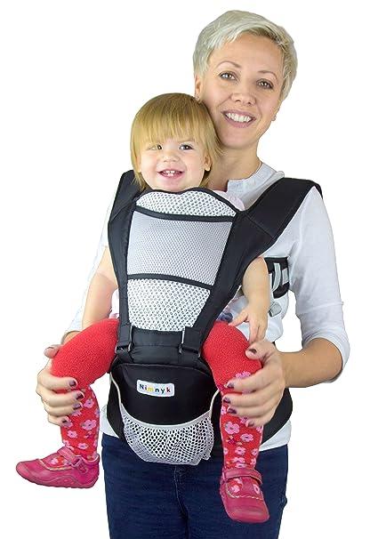 Carrito de bebé original transpirable suave estructurado delantero 2 espalda apoyo correa multiposición de cadera con ajustable correas