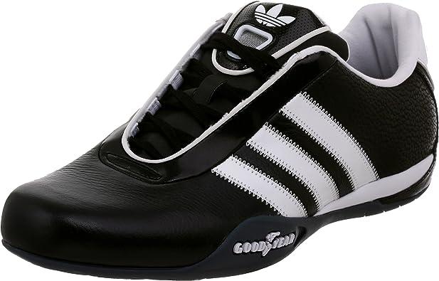 zapatilla sirena Nunca  Amazon.com | adidas Originals Men's Goodyear Race Driving Shoe,  Black/White/Onix, 5 M US | Fashion Sneakers
