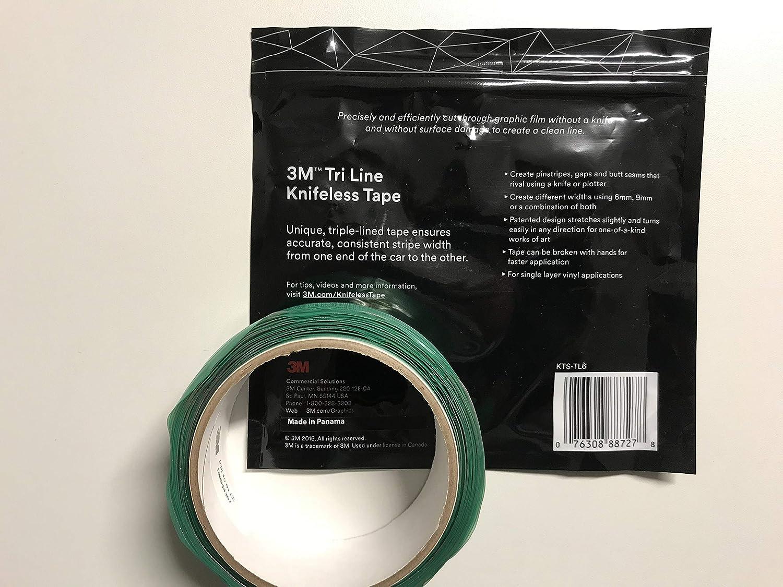 3M Tri Line Knifeless Tape - 6 mm - 50 m (164 ft) Three-part