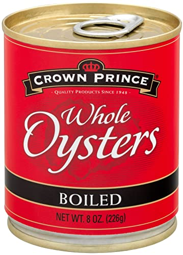 Crown Prince Whole Boiled Oysters Review