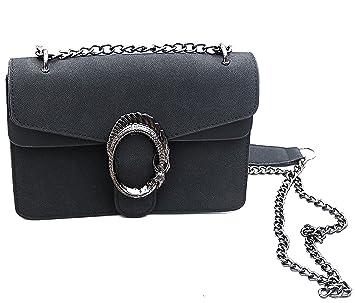 ae429c397efa0 Designer Handtasche in Veloursleder-Optik by Sassyclassy