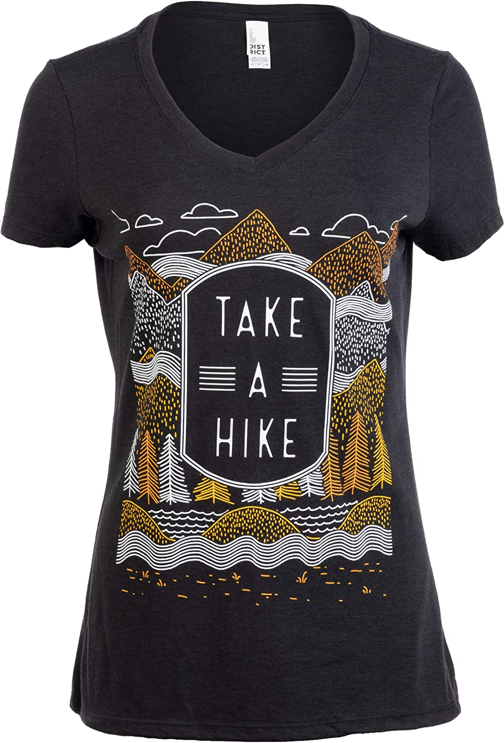 Take a Hike | Outdoor Nature Hiking Camping Graphic Saying for Women T-Shirt Top