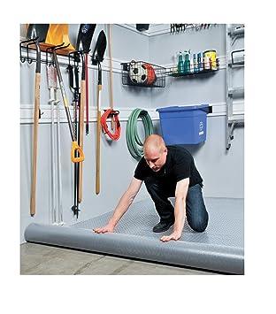 PVC Bodenbelag / Fußboden, Vinyl, robust, ideal für die Garage ...