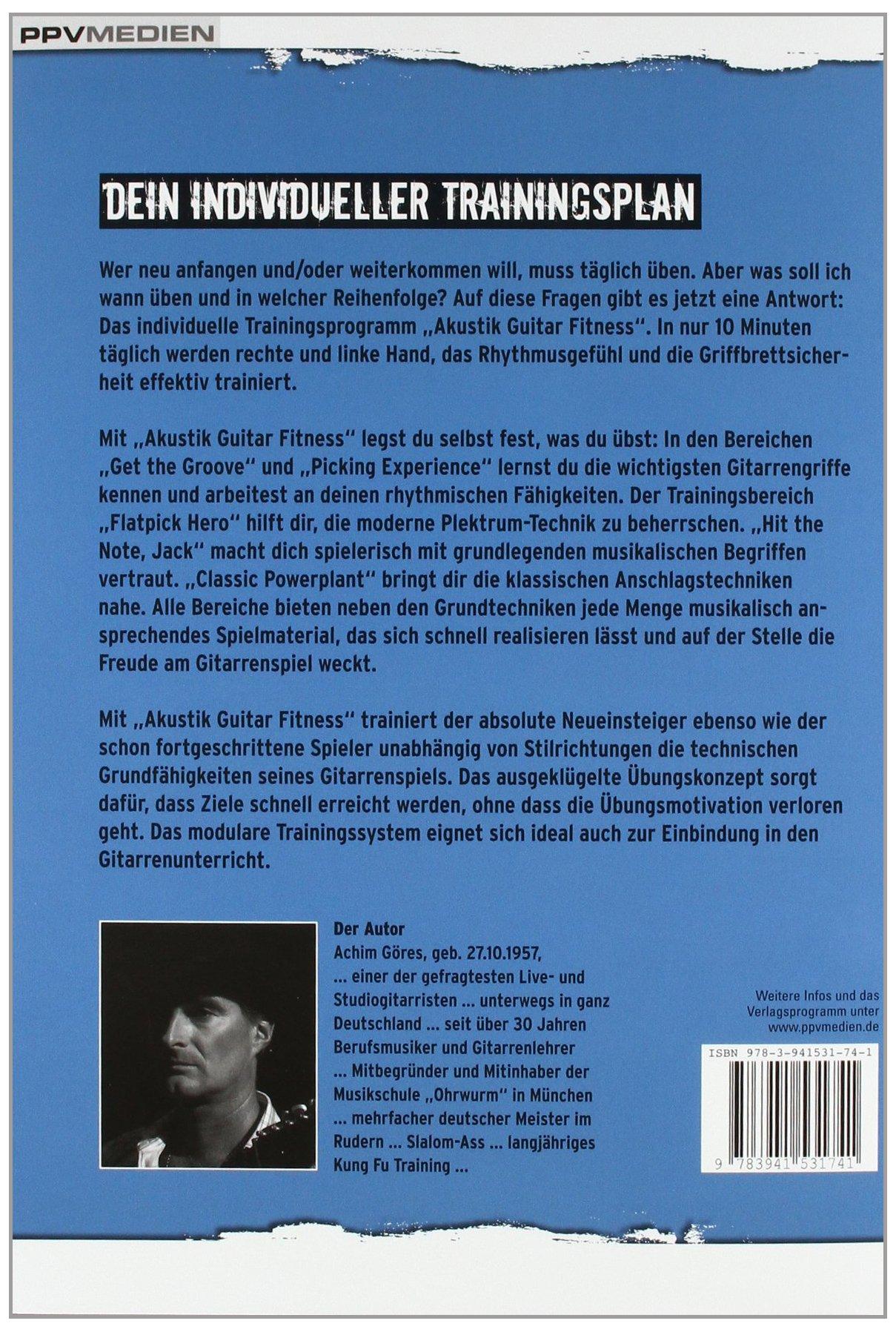 Akustik Guitar Fitness. Dein individueller Trainingsplan für schnellen  Erfolg Fitnessreihe: Amazon.de: Achim Göres: Bücher