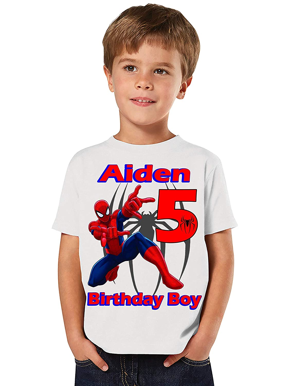 7 years or 8 Years Spiderman Polo Shirt ages 3 Years