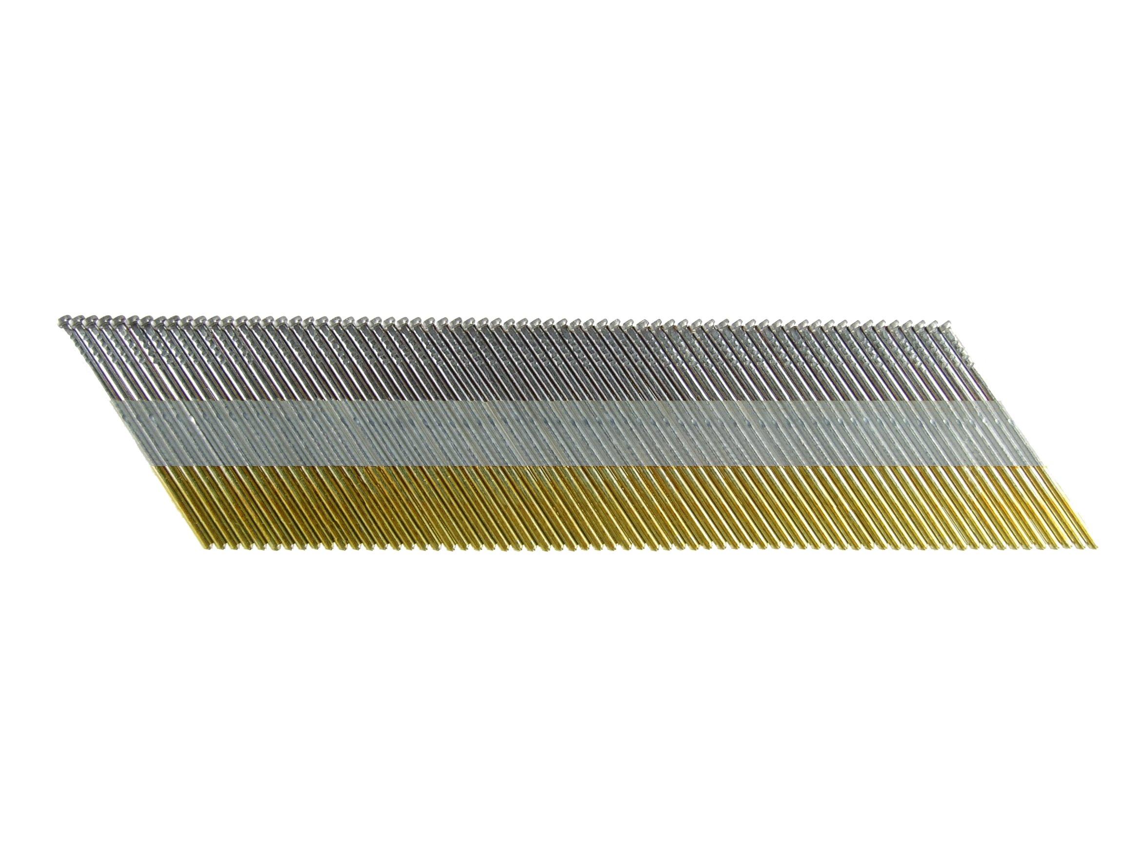 B&C Eagle DA21G 2-Inch x 35 Degree Galvanized Angle Finish Nails (4,000 per box)