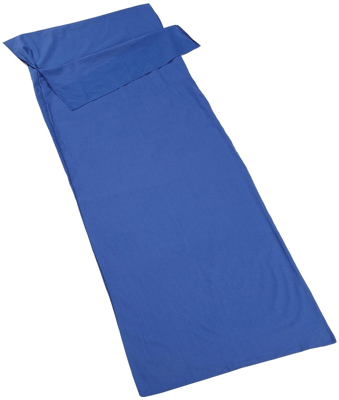 Vango Liner Square - Edredón de camping (algodón), color azul ACXLINER SB2S08