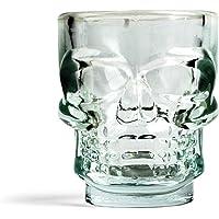 Kikkerland GL06 Skull - Vasos de chupito (4