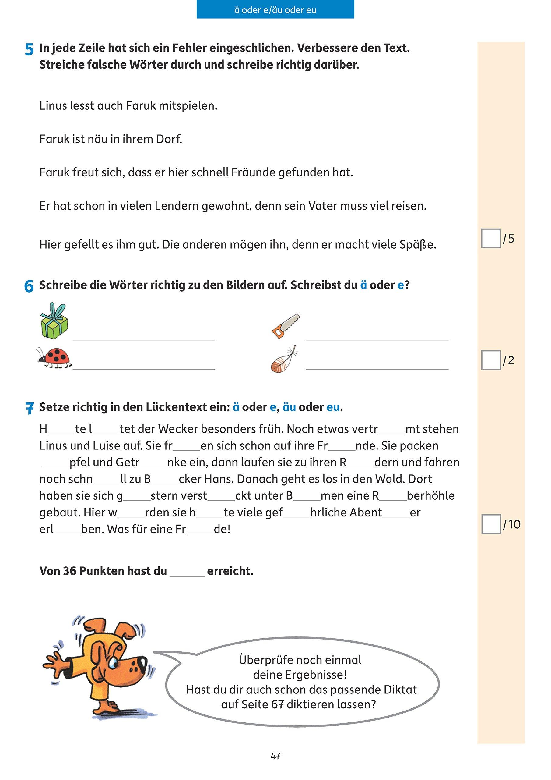 Tests in Deutsch - Lernzielkontrollen 4. Klasse Lernzielkontrollen ...