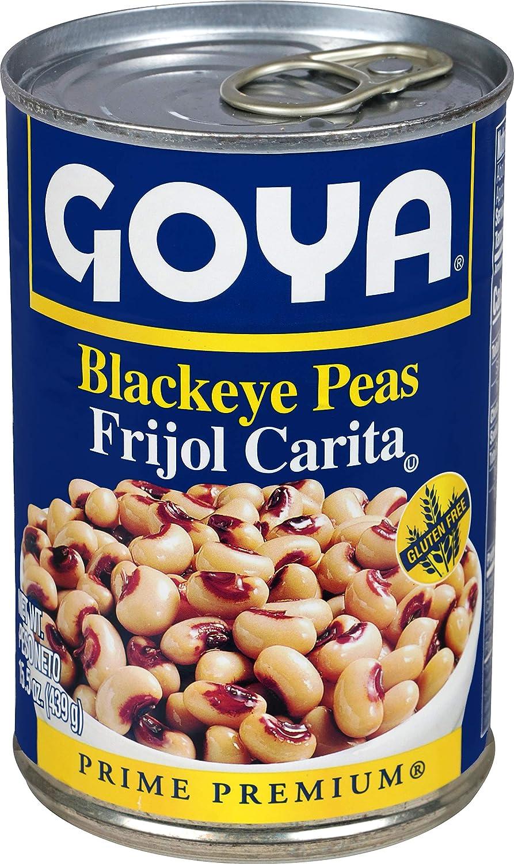 Goya Foods Canned Blackeye Peas, 15.5 Ounce