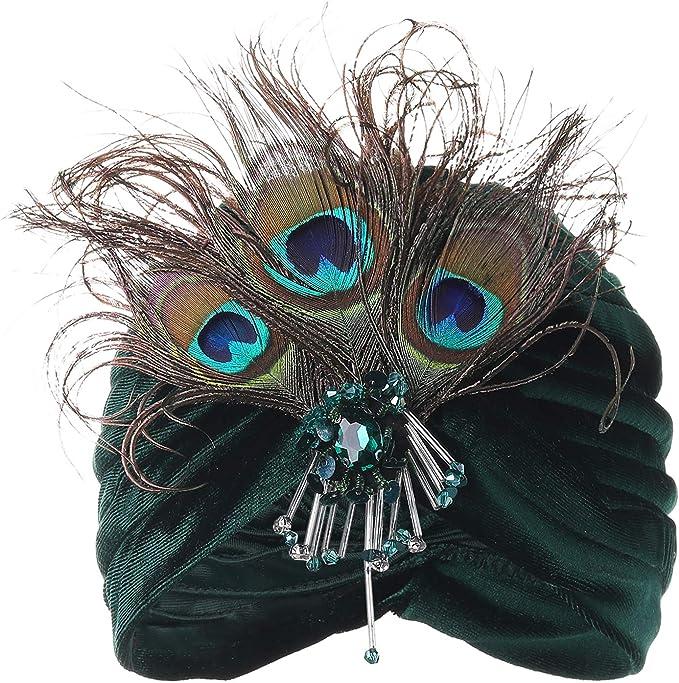 BABEYOND Gatsby Turban Hat