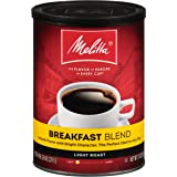 Melitta Breakfast Blend Coffee, Light Roast, Extra Fine Grind, 11 Ounce Can