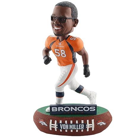 Amazon.com  Forever Collectibles Von Miller Denver Broncos Baller ... 263eecdb9