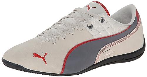 c7a0c12cd5db PUMA Men s Drift Cat 6 Leather Lace-Up Fashion Sneaker
