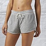 Reebok Damen Oberbekleidung Cotton Shorts Mesh