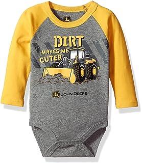 John Deere Baby Boys Bodysuit