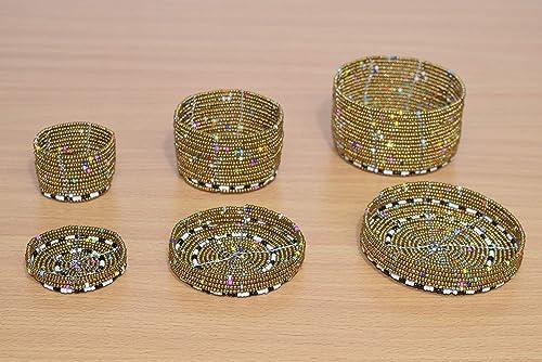 Beaded jewelry box gift box African beaded potbeaded coin box African jewelry box
