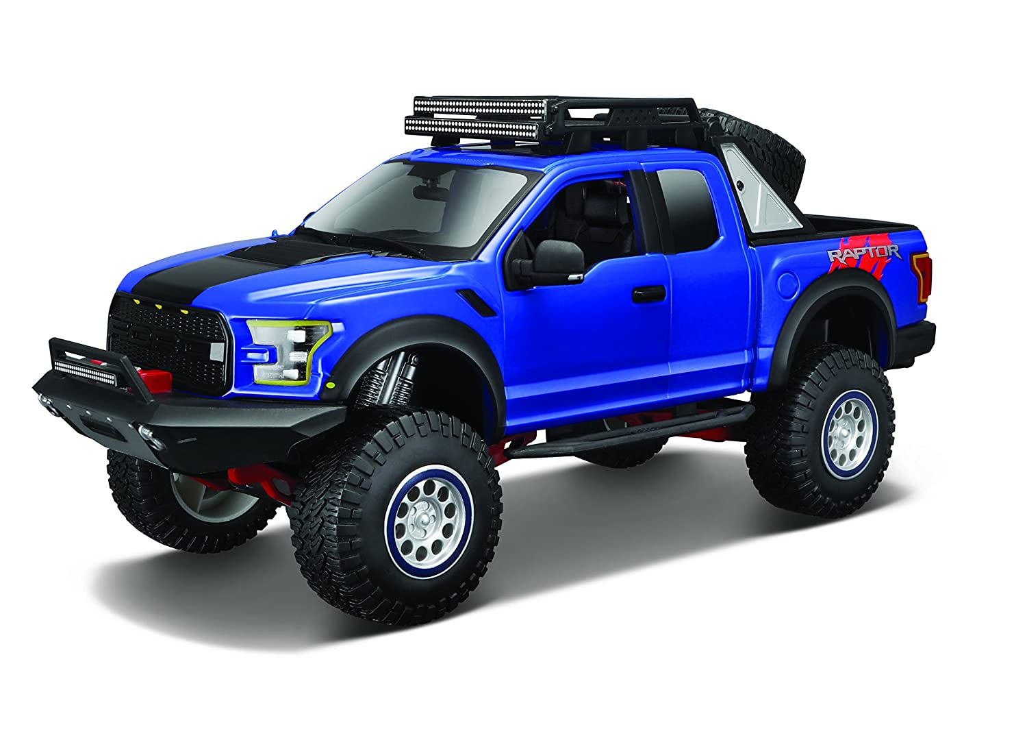 F150 Off Road >> Maisto Design Off Road Kings 2017 Ford F150 Raptor Variable Color Diecast Vehicle 1 24 Scale