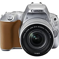 Canon EOS 200D EF-S 18 - 55 mm Digital SLR Camera - Silver