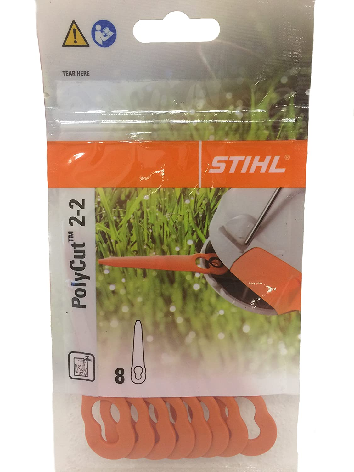 Cutters Easy Install 8pcs Plastic Blade For Stihl PolyCut 2-2 Replace Fashion
