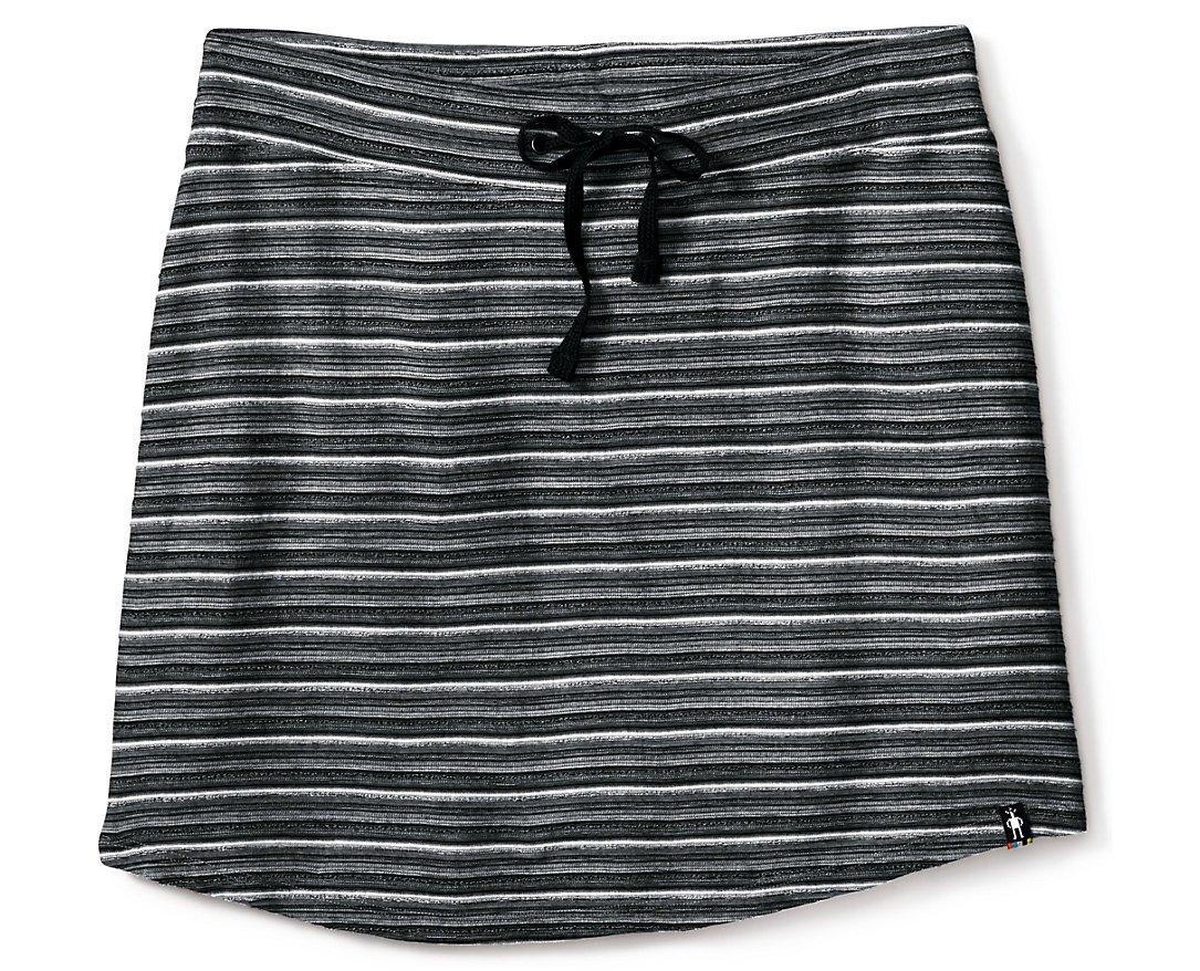 Smartwool Women's Horizon Line Skirt (Black) Medium