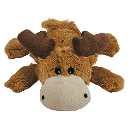 Pet Supplies : Pet Squeak Toys : KONG Marvin Moose Cozie Dog Toy ...