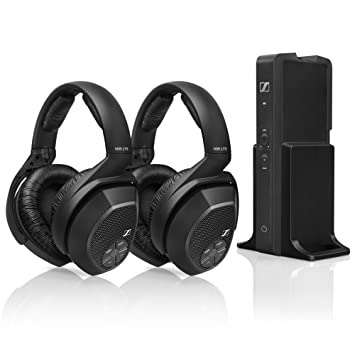 Sennheiser rs175 Over-Ear Auriculares inalámbricos sistema de carga + hdr175 auriculares