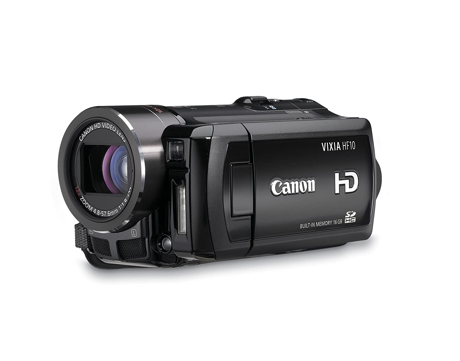 Canon VIXIA HF10 Flash Memory High Definition Camcorder with 16 GB Internal  Flash Memory and 12x Optical Image Stabilized Zoom: Amazon.ca: Electronics