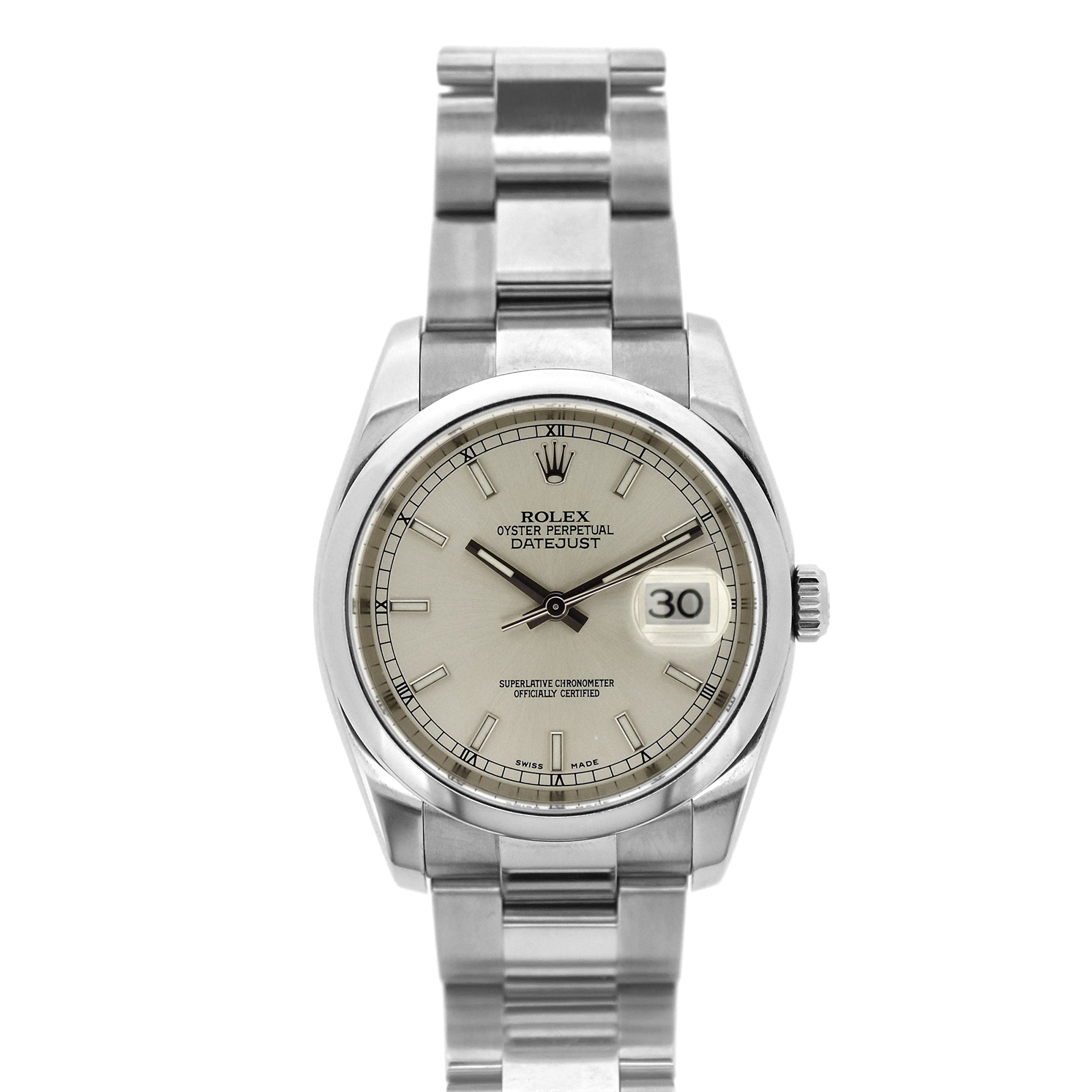 Rolex Datejust swiss-automatic mens Watch 116200 (Certified Pre-owned)