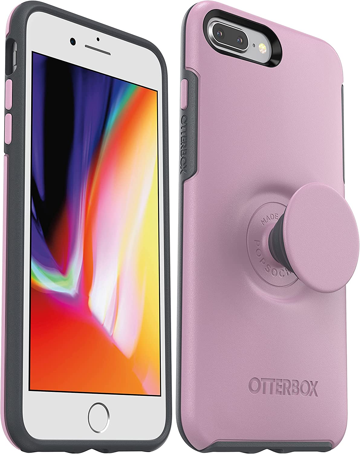 OtterBox + Pop Symmetry Series Case for iPhone 8 Plus & iPhone 7 Plus (ONLY) Non-Retail Packaging - Mauveolous
