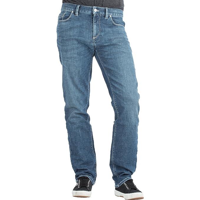 ALBERTO - Jeans - 5 tasche - Uomo 855 kobalt  Amazon.it  Abbigliamento 6efbaaa0759a