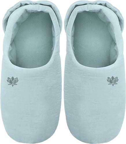Aroma Home - Calentadores de pies para microondas, color azul ...
