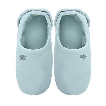Aroma Home - Calentadores de pies para microondas, color azul