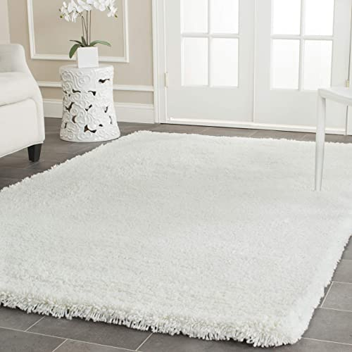Safavieh Ultra Classic Shag Collection SG140A Handmade 2.25-inch Thick Area Rug