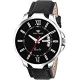 Eddy Hager Black Day and Date Men's Watch EH-106-BK
