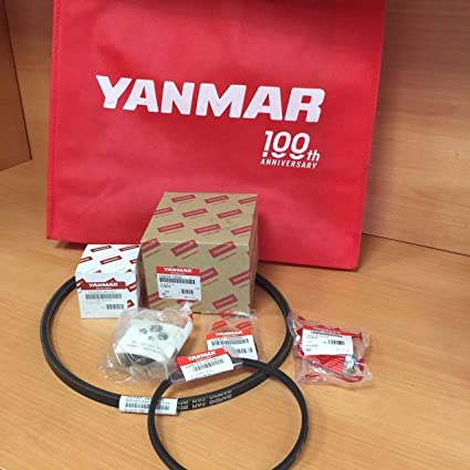 Yanmar 2GM20F 3GM30F Maintenance Minor Kit 128270-12540 119305-35170  104500-55710 124223-42092 25132-003700 104511-78780