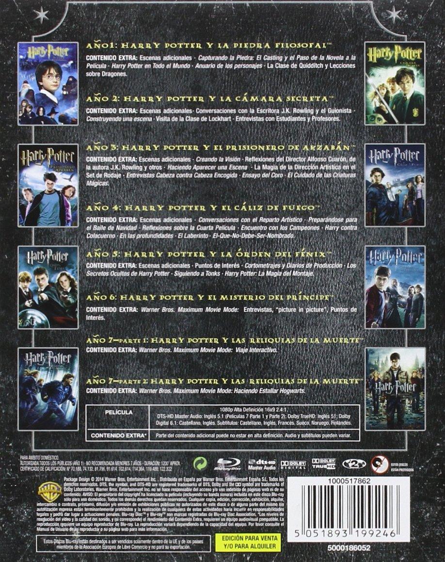 Pack Harry Potter [Blu-ray]: Amazon.es: Alan Rickman, Daniel ...