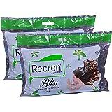 """Recron Bliss 2 Piece Cotton Pillow - 16""""x24"""", White"""