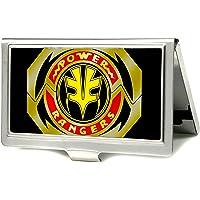 "Buckle-Down Men's Business Card Holder, Power Rangers, 3.7"" x 2.5"""
