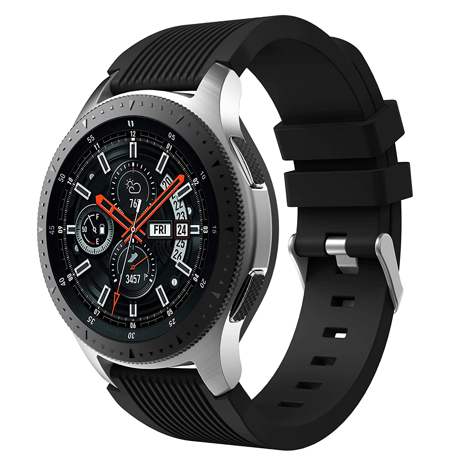 Amazon.com: Senter for Samsung Galaxy Watch 46mm Band,22mm ...