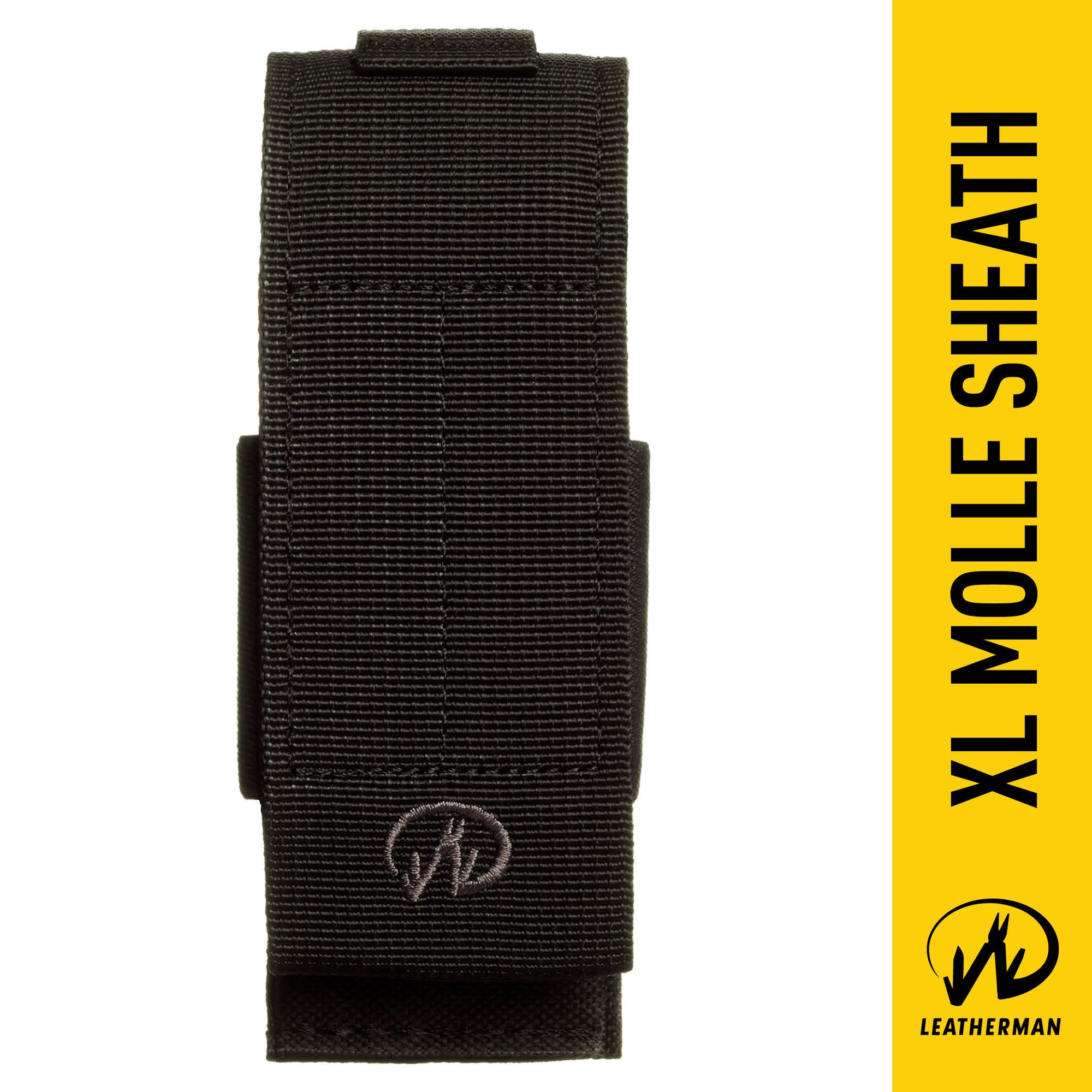Leatherman - MOLLE Compatible X-Large Nylon Sheath, Fits MUT, Surge, and Super Tool 300 - Black