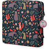 Zicac High Chair Portable Booster Seat Cushion Travel Dining Seat Pad for Toddler Kids Baby Infant Washable Thick Chair…