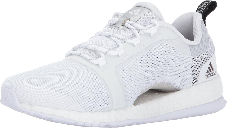 adidas Womens Pureboost X TR 2 Running Shoe, White/Metallic Silver/Black, 5.5 Medium US: Amazon.es: Zapatos y complementos