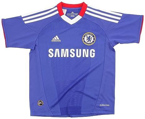 adidas - Camiseta de fútbol sala para niño, tamaño 12 años, color azul