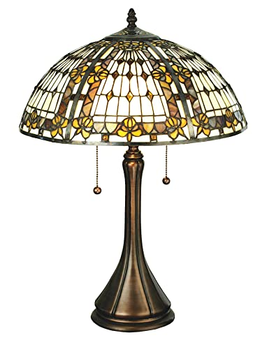 Meyda Tiffany 27031 Fleur De Lis Table Lamp Amazon Com