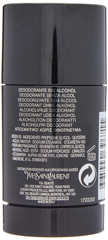 Lanuit De L Homme by Ysl Deodorant Stick 2.6 oz