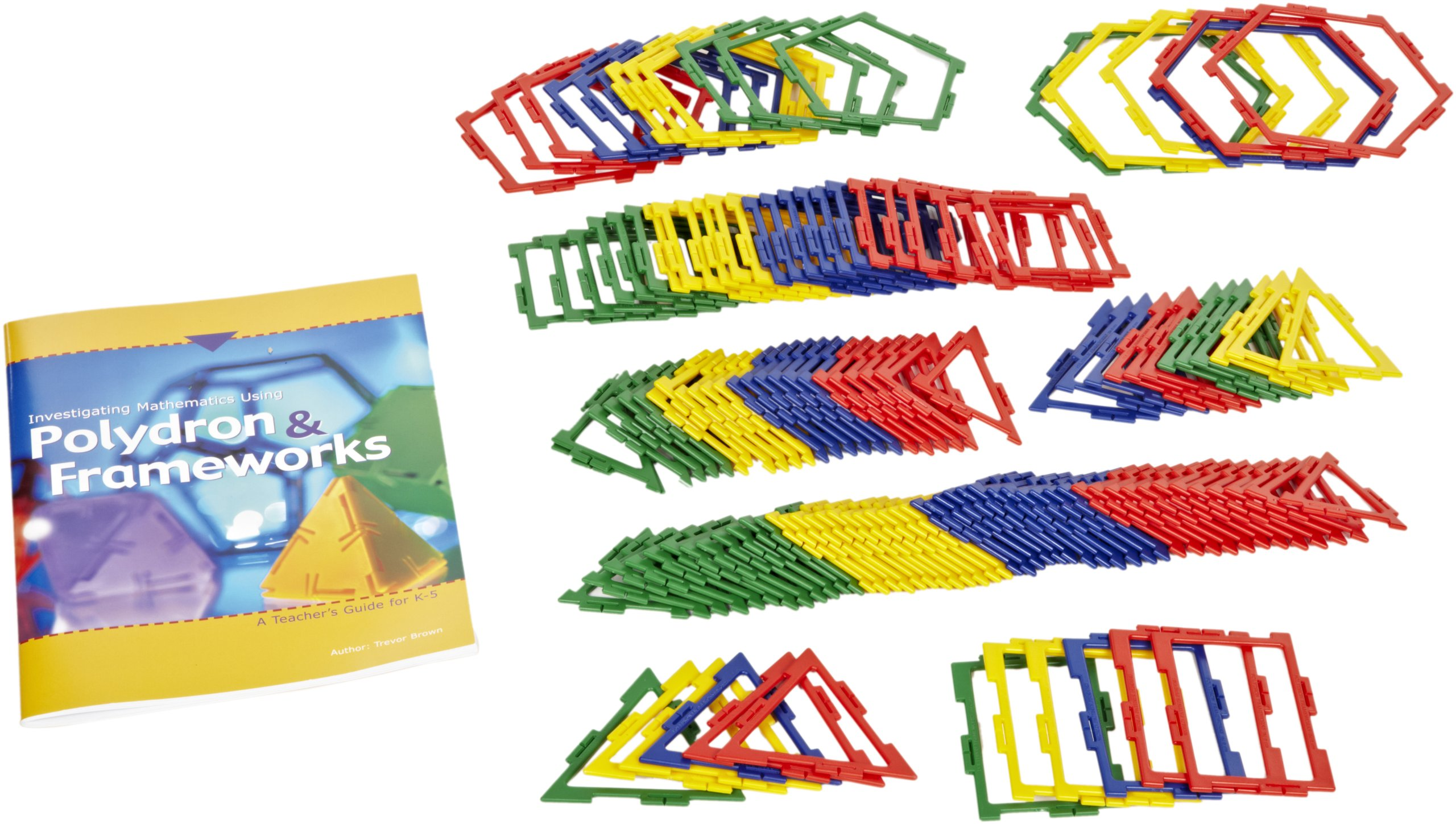 hand2mind Polydron Frameworks Classroom (Set of 690 Pieces) by hand2mind