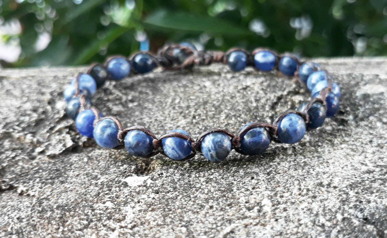 6 mm Kyanite bracelets, stone bracelets, blue bracelets, men bracelets, women bracelets, fashion bracelets