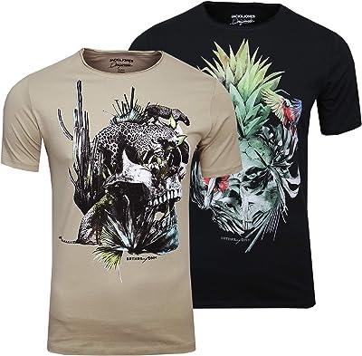 t-shirt tête de mort 7
